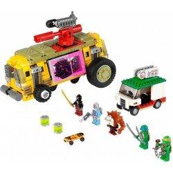 Преследование на грузовике Черепашек (аналог Lego 79104)