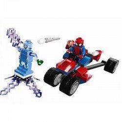 Спайдер-Трайк против Электро (аналог Lego 76014)