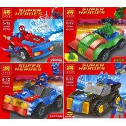 Super Heroes (4 вида)