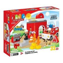 Пожарные спасатели, 32 деталей