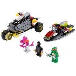 Черепашки: хитрый план преследования (аналог Lego 79102)