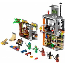 Атака логова Черепашек (аналог Lego 79103)