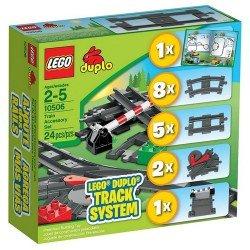 Дополнительные элементы для поезда (Lego 10506)