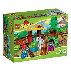 Лесные животные (Lego 10582)