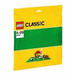 Строительная пластина зеленого цвета (Lego 10700)