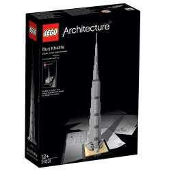 Архитектура Бурдж-Халифа (Lego 21031)