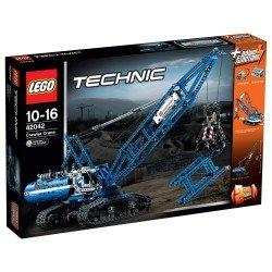 Гусеничный кран (Lego 42042)