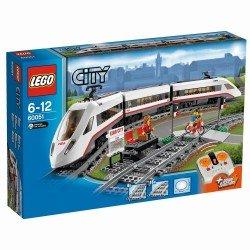 Скоростной пассажирский поезд (Lego 60051)