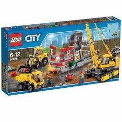 Снос старого здания (Lego 60076)