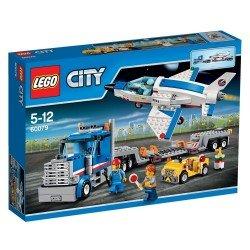 Транспортер для учебных самолетов (Lego 60079)