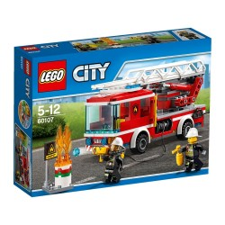 Пожарный автомобиль с лестницей (Lego 60107)
