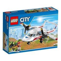 Самолет скорой помощи (Lego 60116)