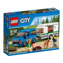 Фургон и дом на колёсах (Lego 60117)
