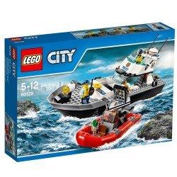 Полицейский патрульный катер (Lego 60129)