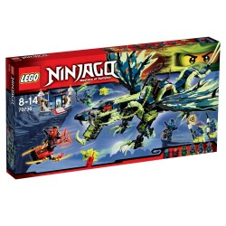 Атака Дракона Моро (Lego 70736)