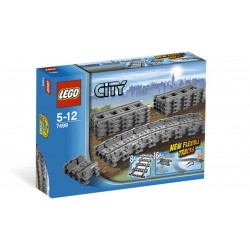 Гибкие рельсы (Lego 7499)