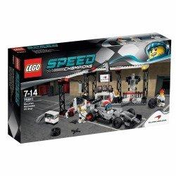 Пункт техобслуживания McLaren Mercedes (Lego 75911)