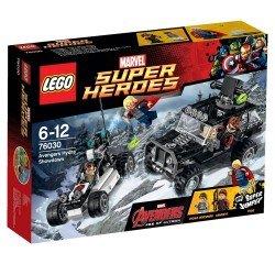 Решающий бой мстителей против Гидры (Lego 76030)