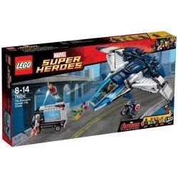 Погоня на квинджете мстителей (Lego 76032)