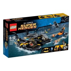 Погоня в бухте на Бэткатере (Lego 76034)