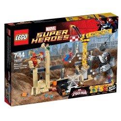 Носорог и Песочный человек против Супергероев (Lego 76037)